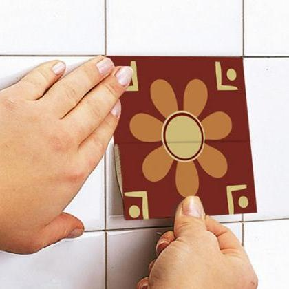 Patchwork Tiles Stickers for mosaic..
