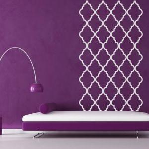 Moroccan Patterns Wall Decal Vinyl ..