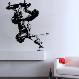Skateboard Wall Sports Decal for Mo..