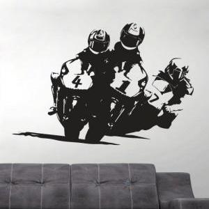 Vinyl Sports Silhouette Wall Decal ..