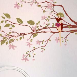 Nursery kids Decal Tree with Loving..