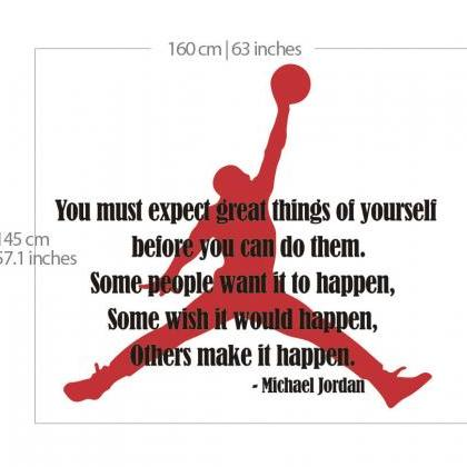 Wall Decal Quotes - Michael Jordan ..