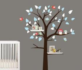 Shelving Tree with B..